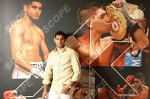 Boxer Amir Khan at home in Bolton - 2013
