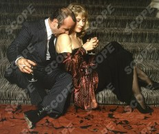 EXCLUSIVE BRIAN MOODY PHOTO-SHOOT WITH BOB HOSKINS ON THE SET OF THE MOVIE THE LONG GOOD FRIDAY - 1980