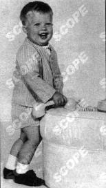 Brad Pitt as a baby.
