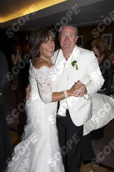 LYNDA BELLINGHAM WEDDING DAY