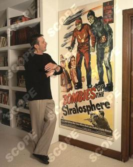 Star Trek star Leonard Nimoy at Hollywood Home.