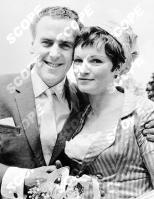 GEORGE COLE AND PENNY MORRELL ON THEIR WEDDING DAY - 1964 REF: 39046TV MUST CREDIT TVTIMES/SCOPEFEATURES.COM