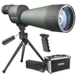 BARSKA Benchmark 25-125×88 Waterproof Straight Spotting Scope