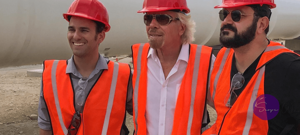 SIR RICHARD BRANSON HYPEROOP TEAMSIR RICHARD BRANSON HYPERLOOP TEAM