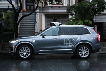 Uber Advanced Technologies Volvo