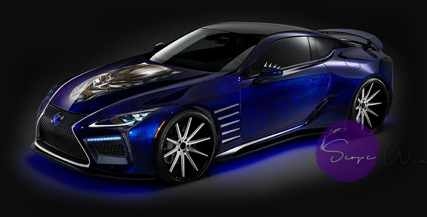 You Ve Seen Black Panther The Movie Now See The Lexus Lc 500 On