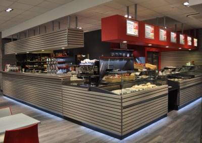 Laporte - agencement cafétéria et snacking - agencement GMS