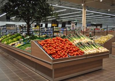 Laporte - rayon fruits et légumes
