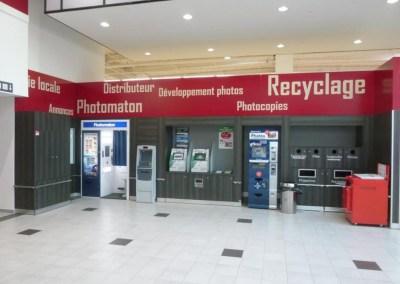 Laporte - agencement services et recyclage - agencement GMS