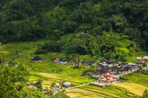 Perkampungan di Kabupaten Agam Sumbar