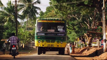 da Trichy a Pondicherry in autobus locale