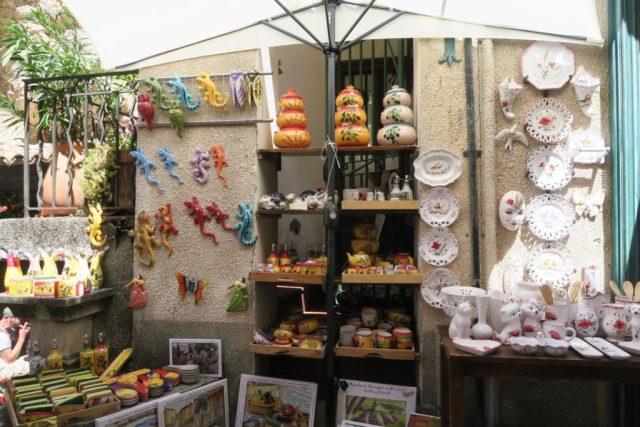 Moustiers-Sainte-Marie : le ceramiche