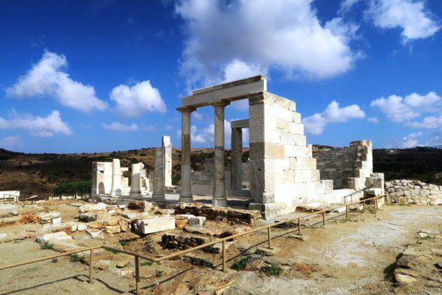 Naxos: il tempio di Demetra