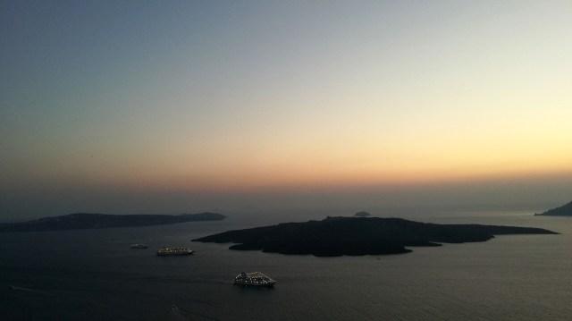 Oia - tramonto a Santorini
