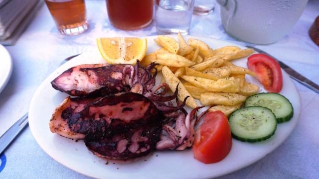 Cosa mangiare in Grecia - pesce