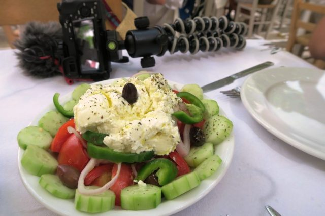 Cosa mangiare in Grecia - Insalata greca
