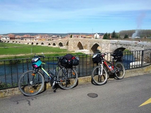 in bici sul cammino di santiago