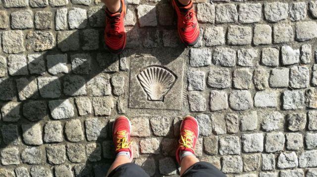 scarpe cammino di santiago