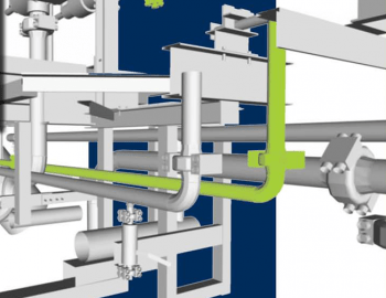 Gas lift flowline routing scopus engineering
