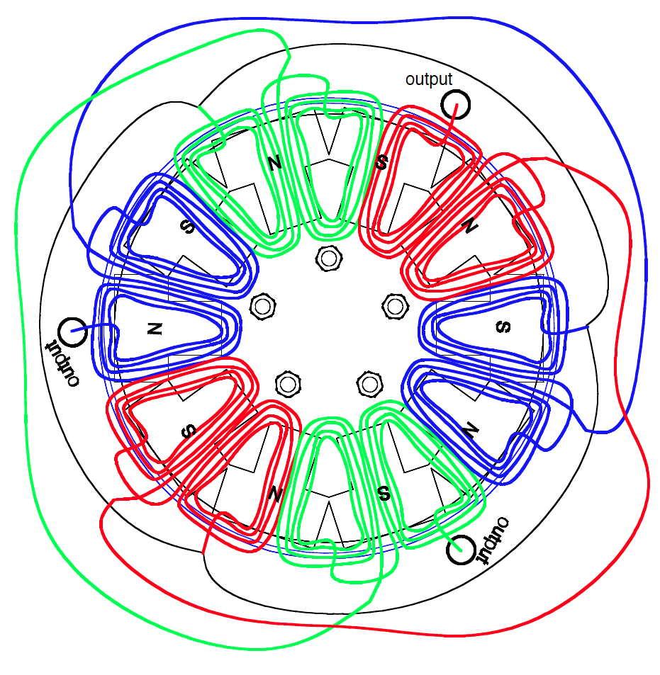 Wiring Diagram Single Phase Generator