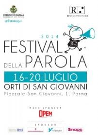 Locandina Festival della Parola