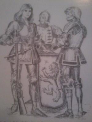[cml_media_alt id='2785']Donella Rossi, figlia di Pier Maria de' Rossi e moglie di Giberto III Sanvitale, si appresta a difendere la Rocca dall'attacco delle truppe guidate dal cugino Amuratte Torelli[/cml_media_alt]