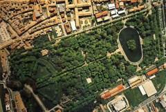 Vista dall'alto del Parco Ducale