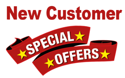 NEW CUSTOMERS - UNADVERTISED SPECIAL