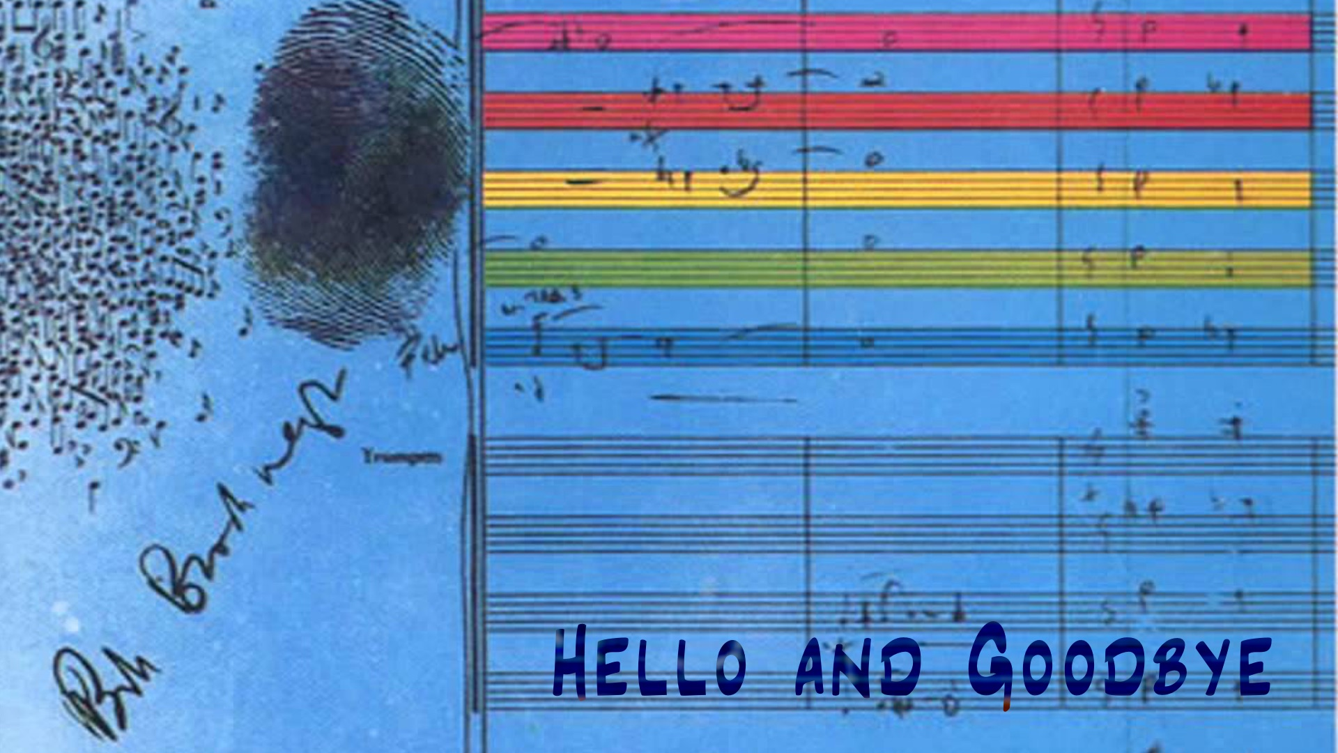 Ellington Hello and Goodbye