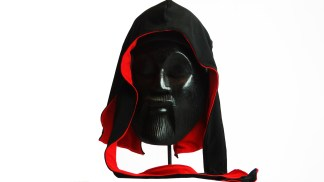 King Scorpion 360 Reversible Silk Durag Black/Red