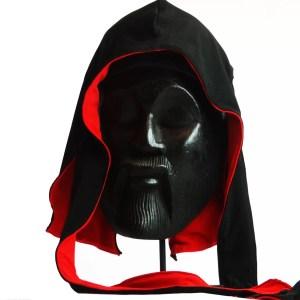 King Scorpion 360 Reversible Silk Durag Black/Red