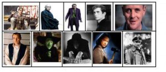 10 Sinister Movie Villains – Scorpius Books