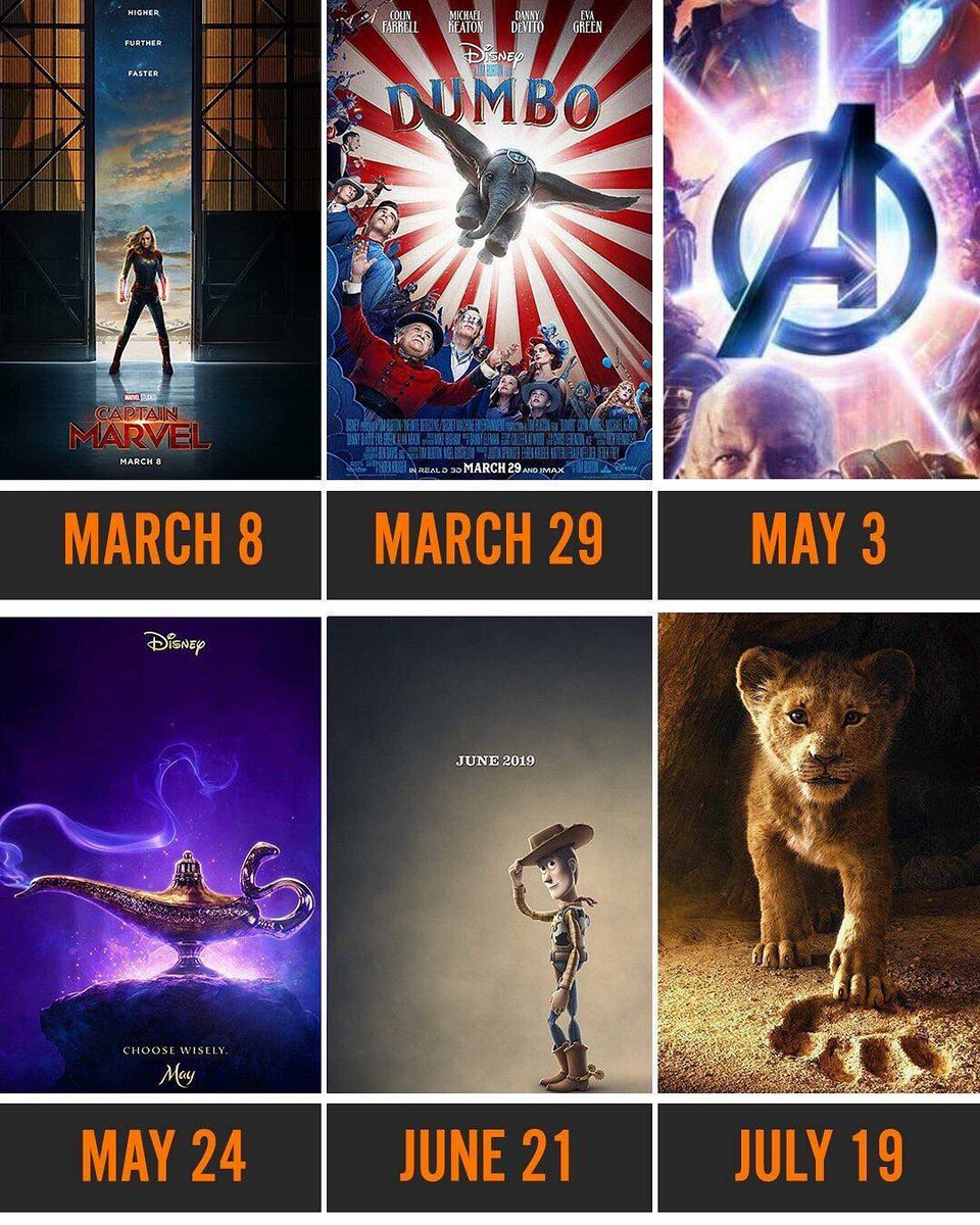 Check out 2019 six most anticipated movies  Scorpzgcacom