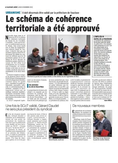 Dauphiné Libéré 22 11 2018