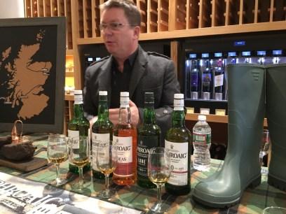 Simon Brooking, Laphroaig's US Brand Ambassador