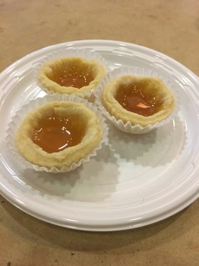 mini Apricot Tartlets