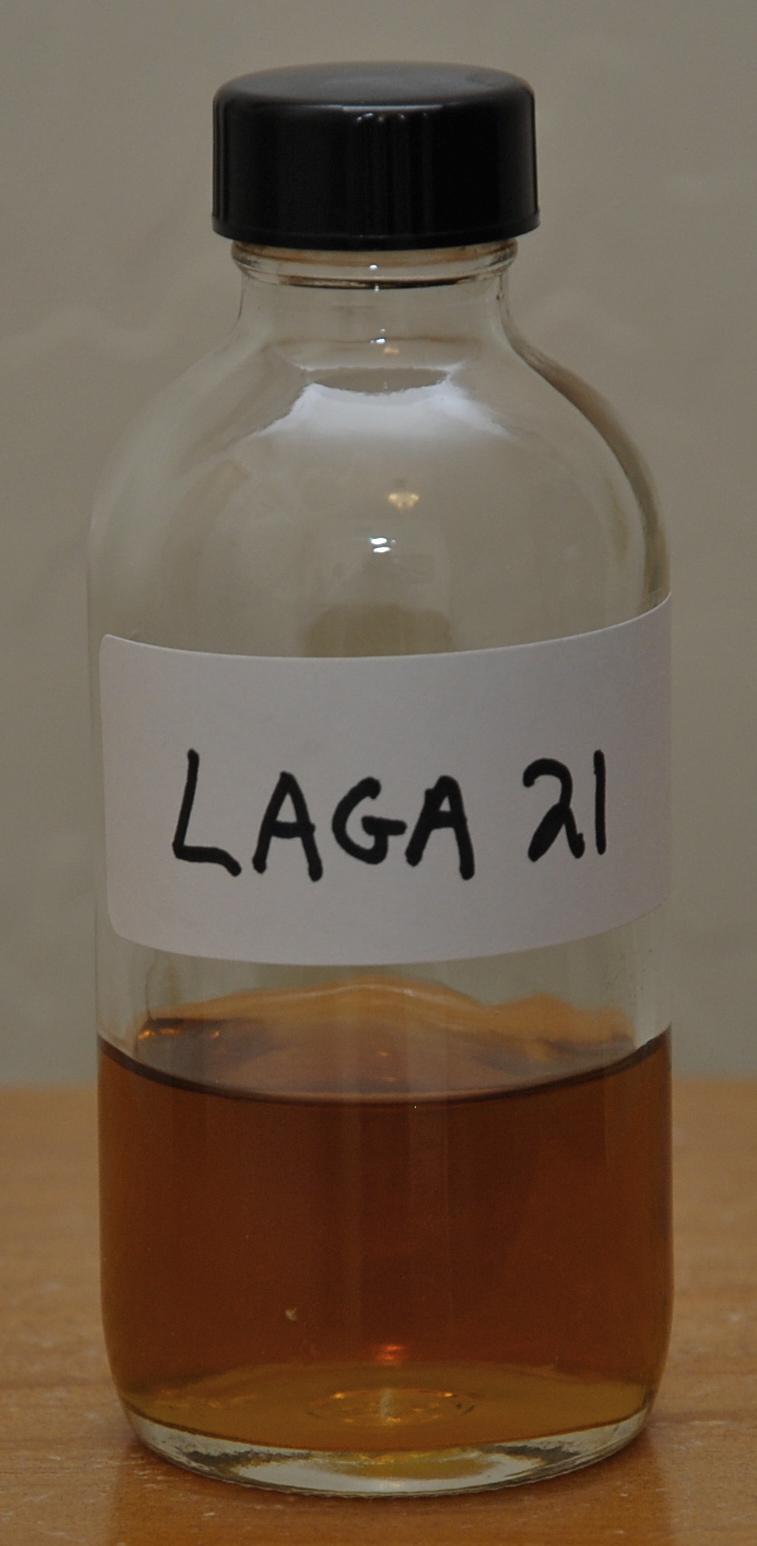 Lagavulin 21 sample