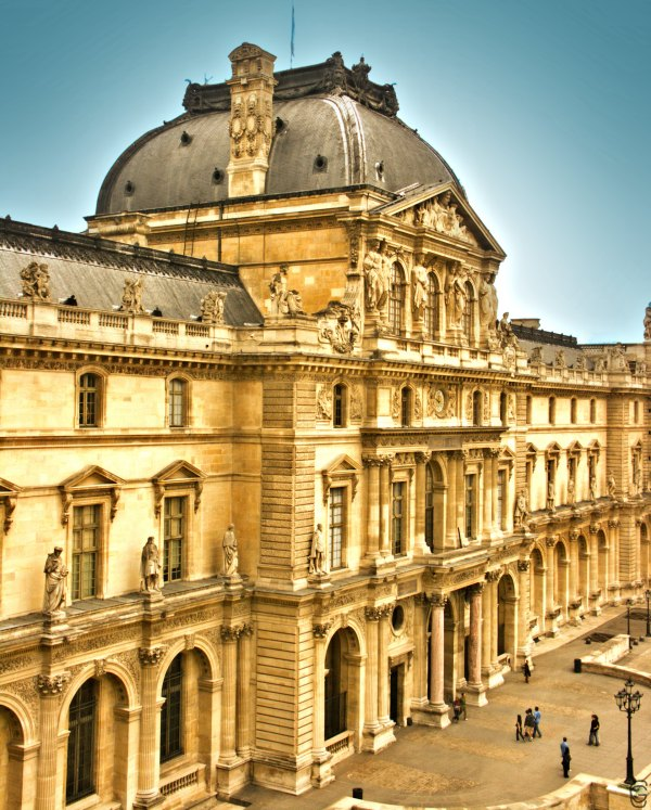 Architecture Of Louvre