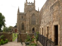 The Abbey from courtyard