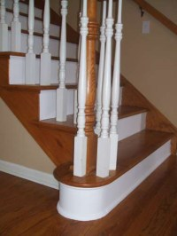 Hardwood Staircase Systems - 3 Stair Tread Types