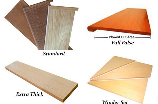 Solid Wood Stair Treads Oak Maple Birch Ash And Custom Treads | Oak Wood Stair Treads | Hardwood Lumber | Risers | Hardwood Flooring | Solid Oak | Return