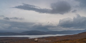 Ominous clouds over Ben Hope and Loch Eriboll
