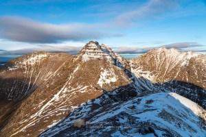 An Teallach Peaks from Stob Cadha Gobhlach, Torridon & Fisherfield