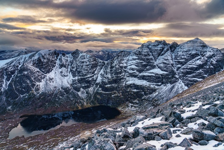An Teallach Winter Solstice Afternoon, Fisherfield