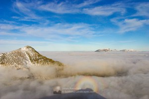 Brocken Spectre Over Glencoe, Lochaber