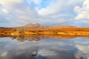 Canisp December Reflections, Assynt & Ullapool
