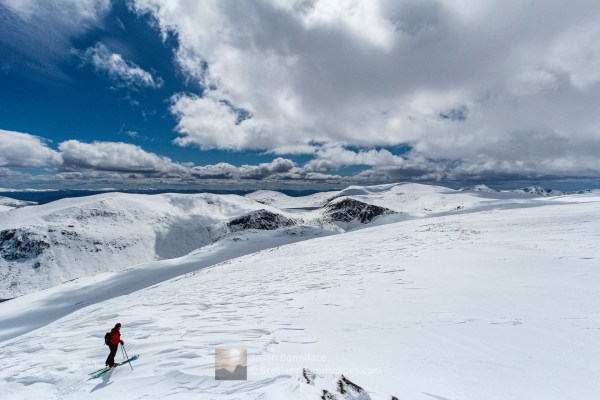 Ski Touring in May, Cairngorm