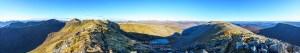 Glen Affric High Hills Panorama from Stob Coire Dhomhnuill , Glen Affric