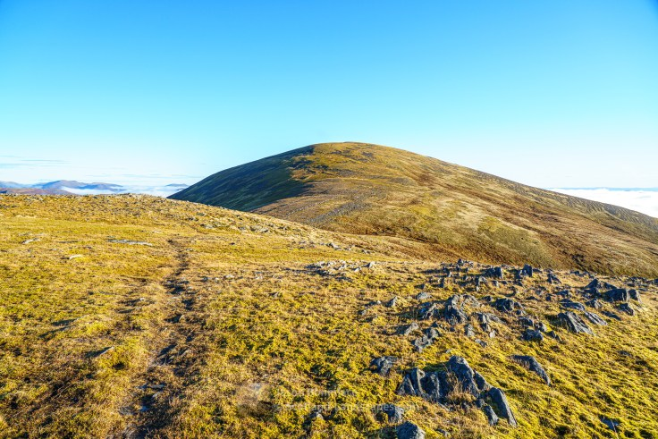 Toll Creagach from its Western Ridge, Glen Affric