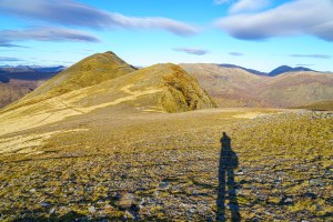 A Selfie on the way to Beinn Fhionnlaidh, Glen Affric